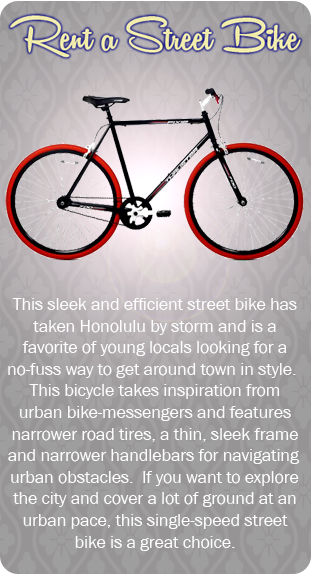 Rent a Street Bike in Waikiki